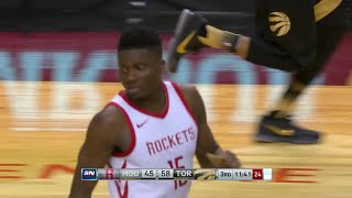 3rd Quarter, One Box Video: Toronto Raptors vs. Houston Rockets