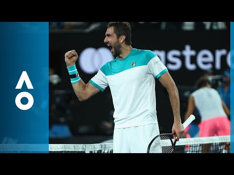 Rafael Nadal v Marin Čilić match highlights (QF) | Australian Open 2018