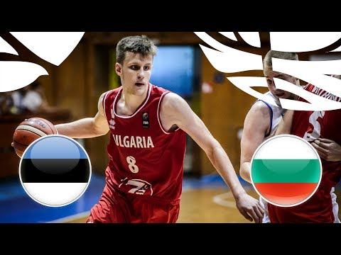 Estonia v Bulgaria - Full Game - FIBA U20 European Championship Division B 2018