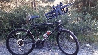 bike riding while concealing a gun