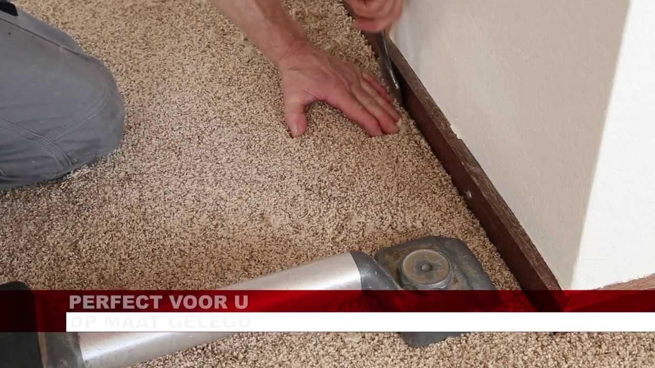 Ondervloer Voor Tapijt : Tapijt op ondertapijt en latten youtube
