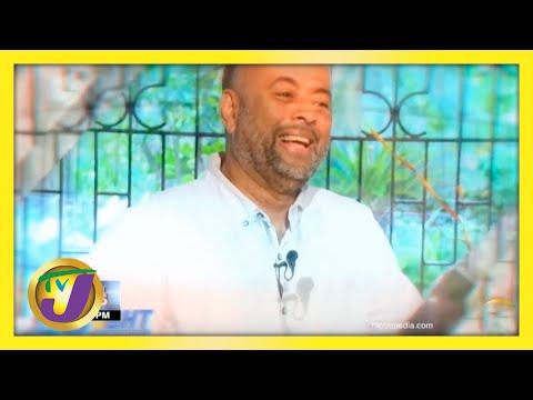 Michael Sharpe Jamaican Journalist   TVJ News
