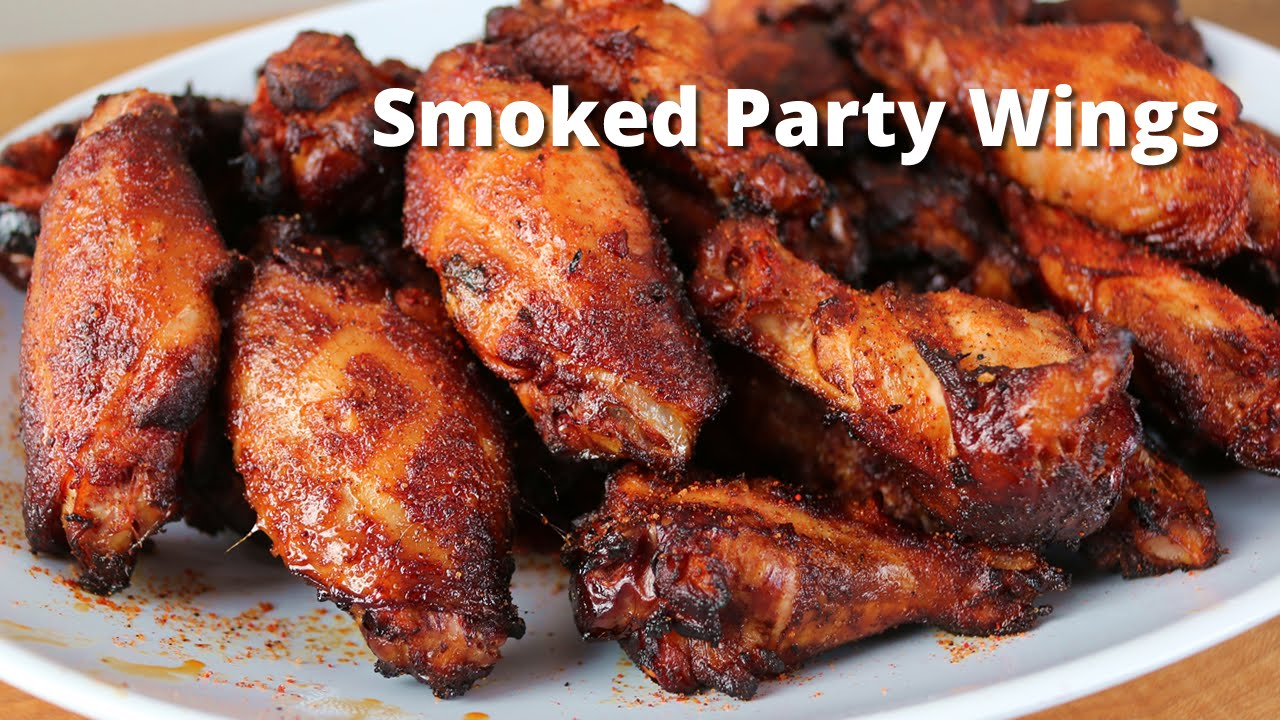 Smoked Party Wings Recipe Smoked Hot Wings On Ole Hickory Smoker