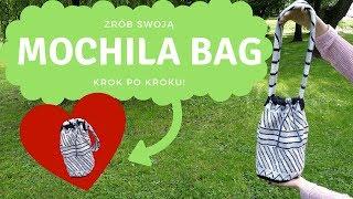 Mochila bag krok po kroku - kurs po polsku!  Gobelinowa torba na szydełku  TUTORIAL