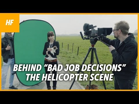 """Creating The Helicopter Sequence of """"Bad Job Decisions"""""""