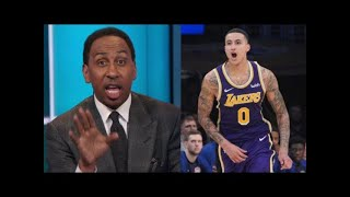 Stephen A. Smith GOES CRAZY about Kyle Kuzma 41 points