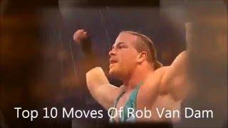 Top 10 Moves Of Rob Van Dam