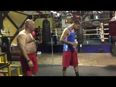 future champ david kaminsky working out - esnews boxing