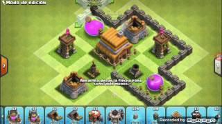 Como Hacer una Aldea Ayuntamiento Nivel 4/Clash Of Clans