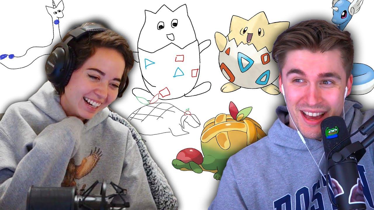 Ludwig describes Pokémon, I try to draw them