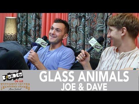B-Sides On-Air: Interview - Glass Animals (Dave & Joe) at Treasure Island Music Festival 2016