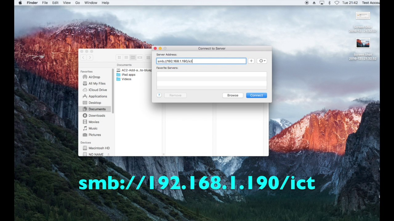 How To Connect To A Windows Shared Folder On A Mac Map Network Drive On Mac on utorrent mac, linux mac, outlook mac, android mac, daemon tools mac, remote desktop mac, windows mac, firefox mac,