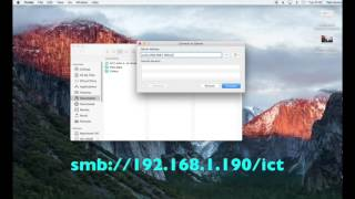 How To Connect To A Windows Shared Folder On A Mac