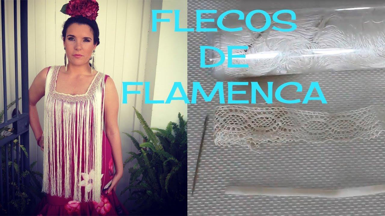 Cómo Hacer Flecos De Flamenca Youtube
