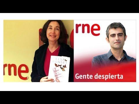 """Elsa Punset en """"Gente despierta"""" Radio Nacional de España. RNE"""