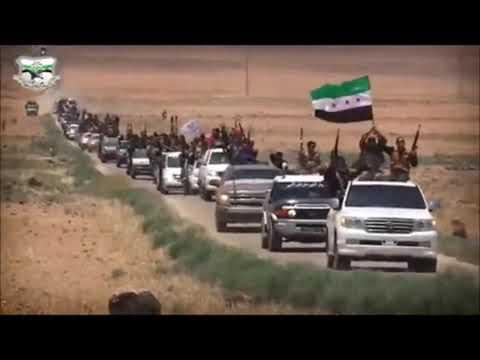 Free Syrian Army battles against Bashar Al-Assad, his Iranian allies, and its mercenarie