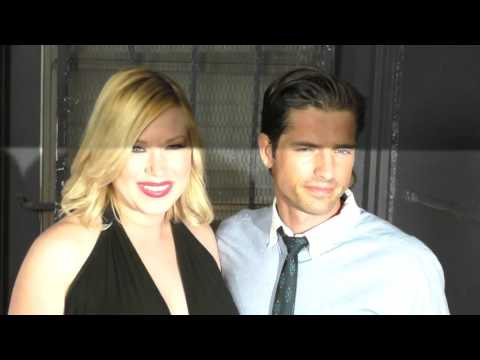 Adrienne Frantz and Scott Bailey at the 15th Annual Les Girls Cabaret at Avalon Nightclub in Hollywo