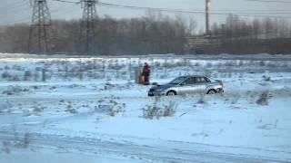 Трасса 74 Зимний Спринт Полный привод За 3 место Subaru WRX vs EVO X SST Заславский