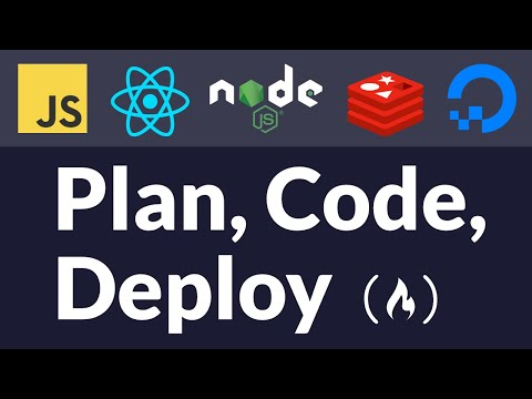 Plan, Code, and Deploy a Startup in 2 Hours [Full Stack JavaScript Tutorial] thumbnail