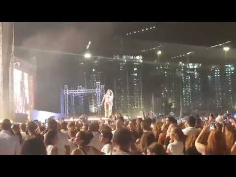 Jennifer Lopez Concert Live In The North Coast Of Egypt