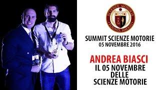 Estratto Summit: Andrea Biasci - Il 05 Novembre delle Scienze Motorie