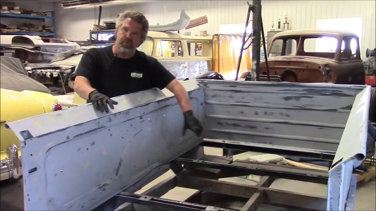 1950 Ford F47 F1 Restoration Update Truck Box Amp Bed