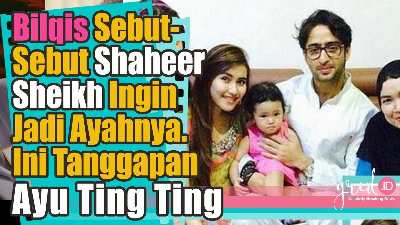 Download Bilqis Sebut-Sebut Shaheer  Sheikh Untuk Jadi Ayahnya, Ini Tanggapan Ayu Ting Ting