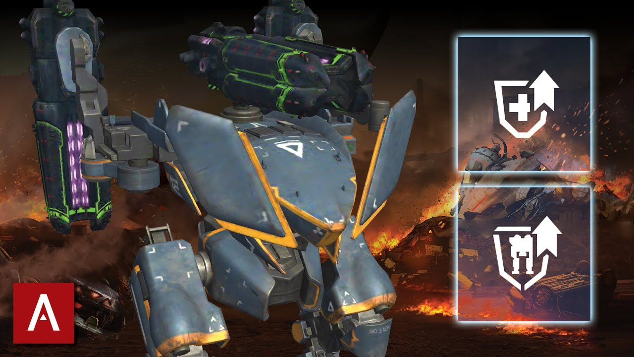 War Robots - These Pilot Skills Make The Falcon Impossible To Kill | Falcon Gameplay