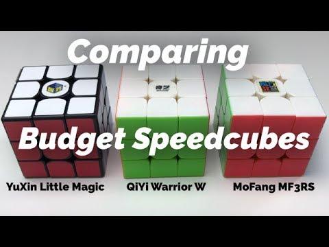 Comparing the MF3RS/YuXin Little Magic/QiYi Warrior W