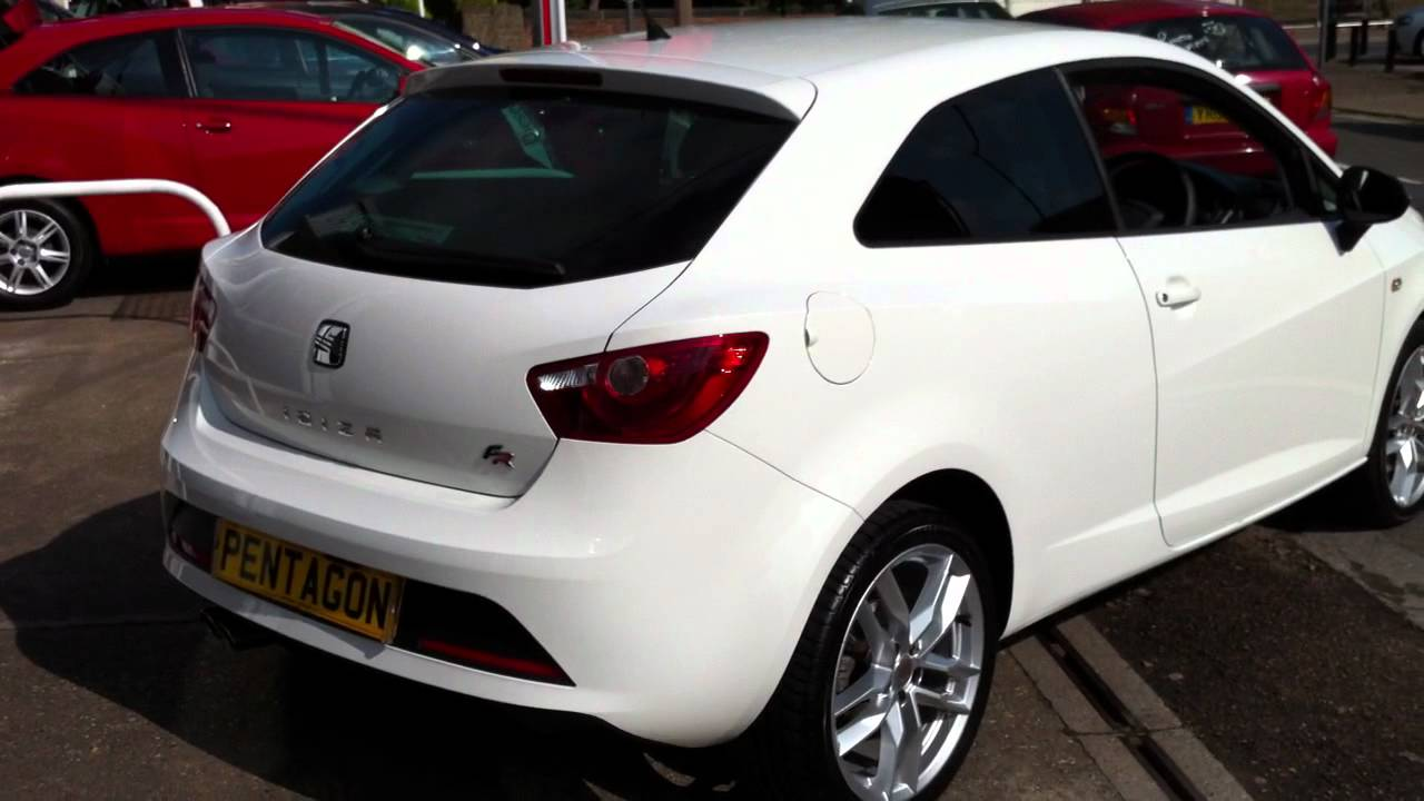 2011 11 plate seat ibiza 2 0 tdi cr fr 3dr candy white. Black Bedroom Furniture Sets. Home Design Ideas