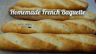 Easy Homemade French Baguette