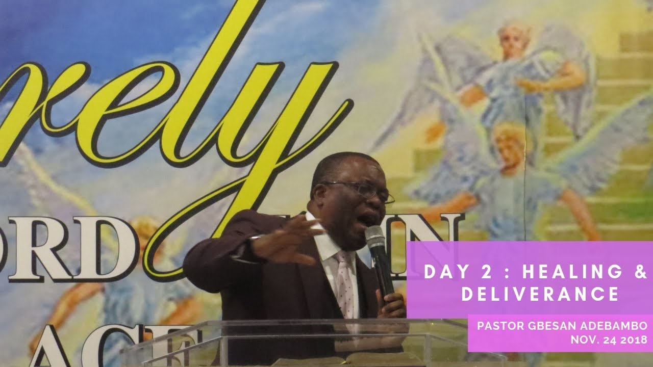 Part 1 Day 2 : 3 Days Healing & Deliverance Crusade with Pastor Gbesan  Adebambo