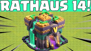 RATHAUS 14! 😍😍 Clash of Clans Update 2021 * CoC [deutsch/german]