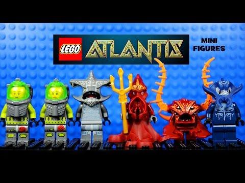 LEGO® Atlantis Deep Sea Adventure Official Minifigure Collection Set 1