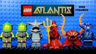 LEGO® Atlantis Deep Sea Adventure Official Minifigure Collection Set 1