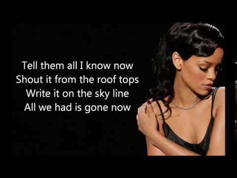 Impossible - Rihanna (lyrics)