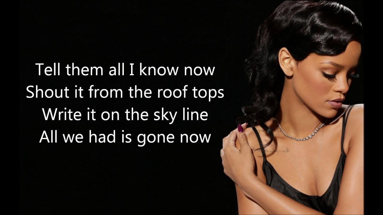 Impossible - Rihanna (lyrics)