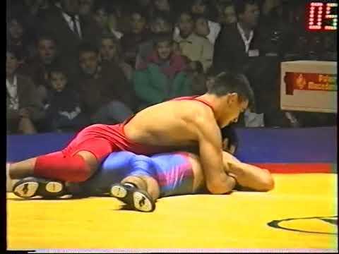 58 Kg. Vlado Lazarov (Bucim Jaka) Vs Murad Ramazanov (CSKA)1997 Kup Evropski Shampioni