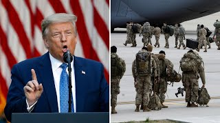 President donald trump on monday threatened to deploy the u.s. military stop national protests over death of george floyd and police brutality. in...