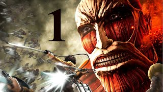 Attack on Titan Wings of Freedom Gameplay Walkthrough Part 1 PC - No Commentary Playthrough