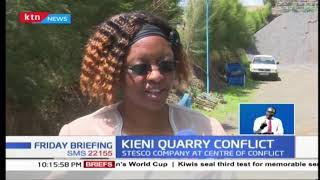 Stalemate over quarry in Nyeri County
