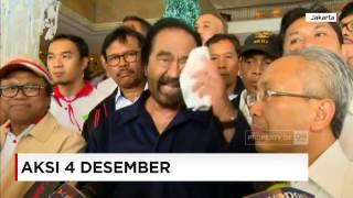 Pernyataan Setya Novanto & Surya Paloh Soal Aksi 4 Desember