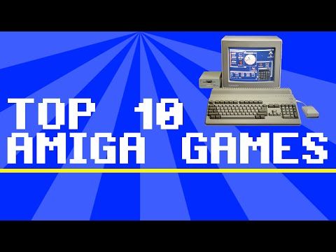 Top 10 Amiga Games - RetroBurk