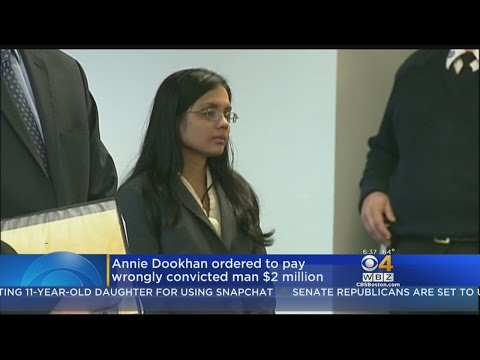 Annie Dookhan Ordered To Pay Wrongly Convicted Man $2 Million