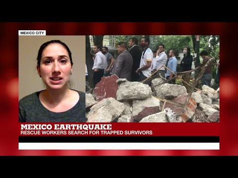 "Mexico Earthquake: ""Many people didn't realize it was a real quake, not part of the drills"""