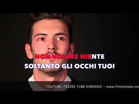 Giovanni Caccamo - Eterno - Karaoke con testo