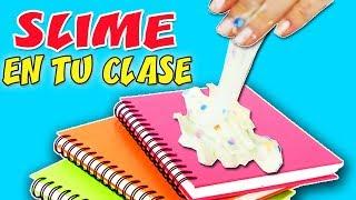 HAZ SLIME EN CLASE CON TUS COMPAÑEROS - SLIME EN LA ESCUELA | Manualidades aPasos