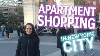 New York City Apartment Shopping