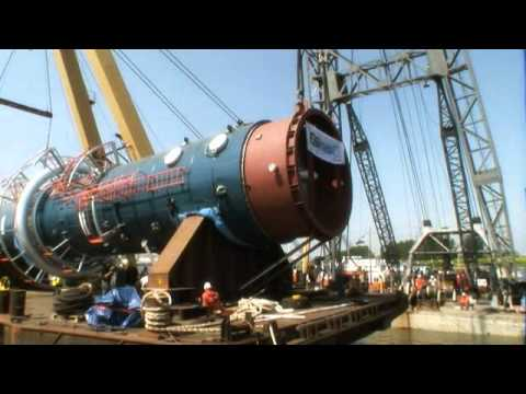 HEAVY LIFTING+HANDLING - TRANSPORT & PLACEMENT OF REACTOR