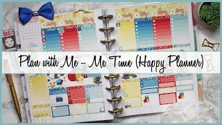 Plan with Me | Me Time (Happy Planner)